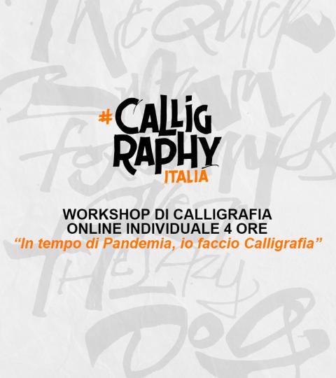 Workshop Di Calligrafia Online – Workshop Individuale
