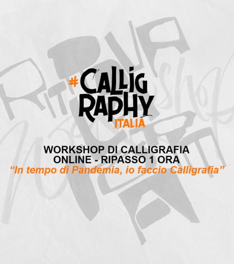 Workshop Di Calligrafia Online – Ripasso Individuale