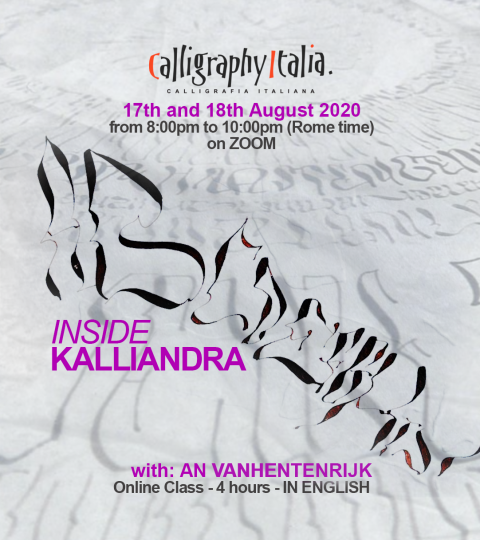 Inside Kalliandra – Online Live Class With An Vanhentenrijk