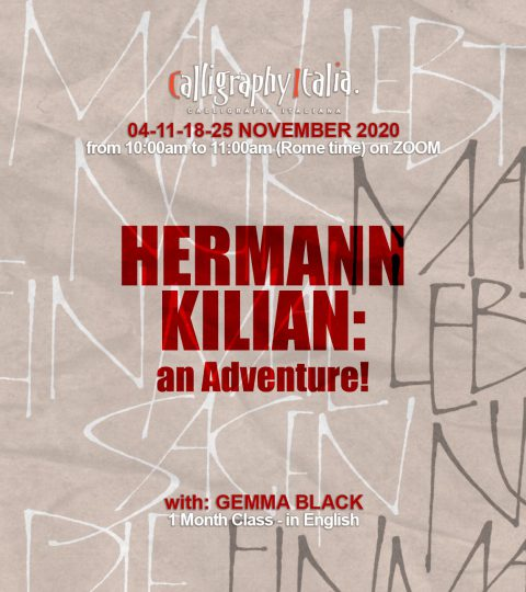 "1 Month Class – ""Hermann Kilian: An Adventure!"" With Gemma Black (in English)"