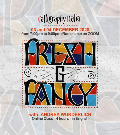FRESH & FANCY – Online Class With Andrea Wunderlich