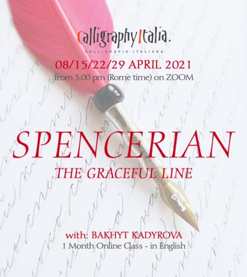 "1 Month Class – ""SPENCERIAN – The Graceful Line"" With Bakhyt Kadyrova"