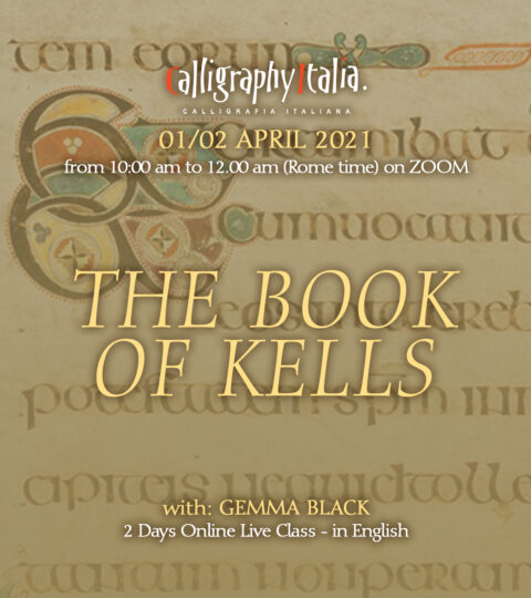 THE BOOK OF KELLS – Online Live Class With Gemma Black